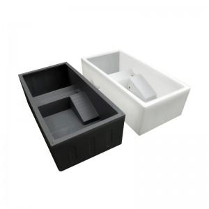 种龟箱 养龟箱 种龟池 水龟箱 塑料箱 龟繁殖箱 龟箱 120 龟苗箱