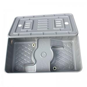 双梯龟缸 龟苗保温箱 种龟池 塑胶乌龟水龟带脚便捷排水龟盆