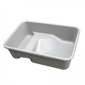 乌龟缸(透明、浅灰色可选) 水龟饲养盒 带晒台 带沙池龟箱龟池50x35x15cm