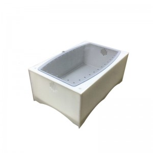 斜面龟箱 陆龟箱 水龟箱 白色龟箱 龟箱 家用宠物箱 阳台龟箱