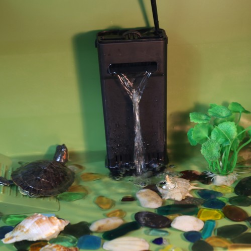 水陆两用乌龟缸