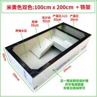 米黄色100x200x50cm(配铁架)