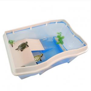 乌龟缸 带晒台养乌龟专用缸巴西龟别墅龟盆石龟龟箱塑料缸