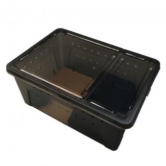 爬宠饲养盒 适用于各种爬行宠物 如:变色龙 守宫 蛇 青蛙 蜘蛛 蝎子
