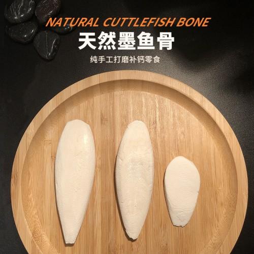 天然墨鱼骨 乌龟补钙精磨墨鱼骨 陆龟、水龟、爬虫、鹦鹉、松鼠、小宠物啃咬磨牙补钙专用