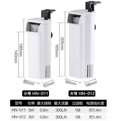 低水位过滤器 3W 过滤循环增氧三合一