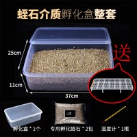 蛭石+孵化盒(送1层蛋托)