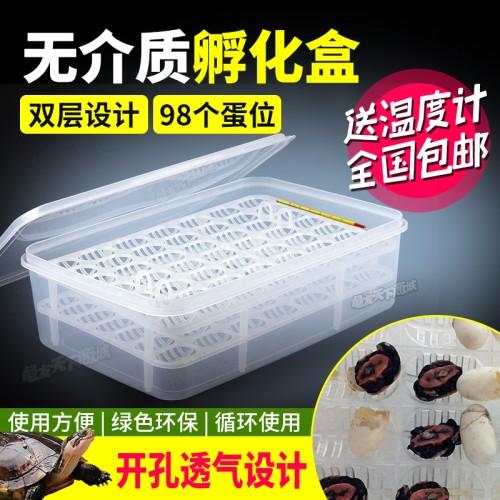 无介质水孵化盒 龟蛋爬宠蛋孵化 蛭石