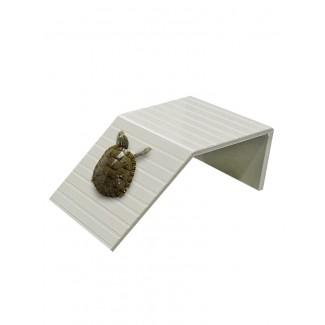 乌龟爬坡晒背台(5个规格选择)爬宠晒台 浮台 浮岛 休息台 躲避 手工制作 厚实