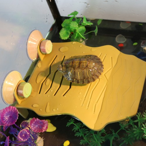 乌龟晒台浮台