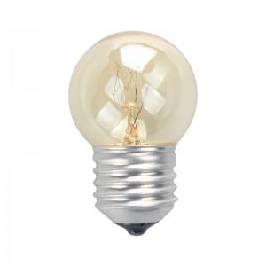 白炽灯泡 照明灯泡 E27螺口钨丝灯泡黄光 5W