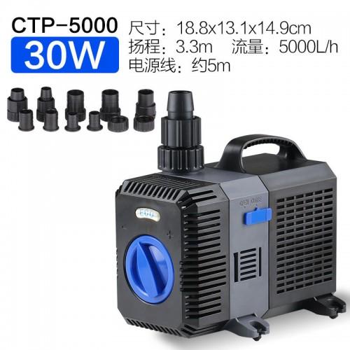 格池牌CTP-系列水陆两用泵变频水泵潜水泵抽水泵鱼缸水泵静音
