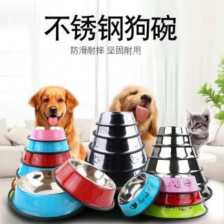 可组装宠物用品不锈钢狗碗猫碗 猫食盆狗食盆 狗盆不锈钢宠物碗